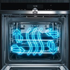Lò nướng không khí nóng 4D