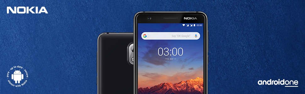 nokia,3.1,android,one