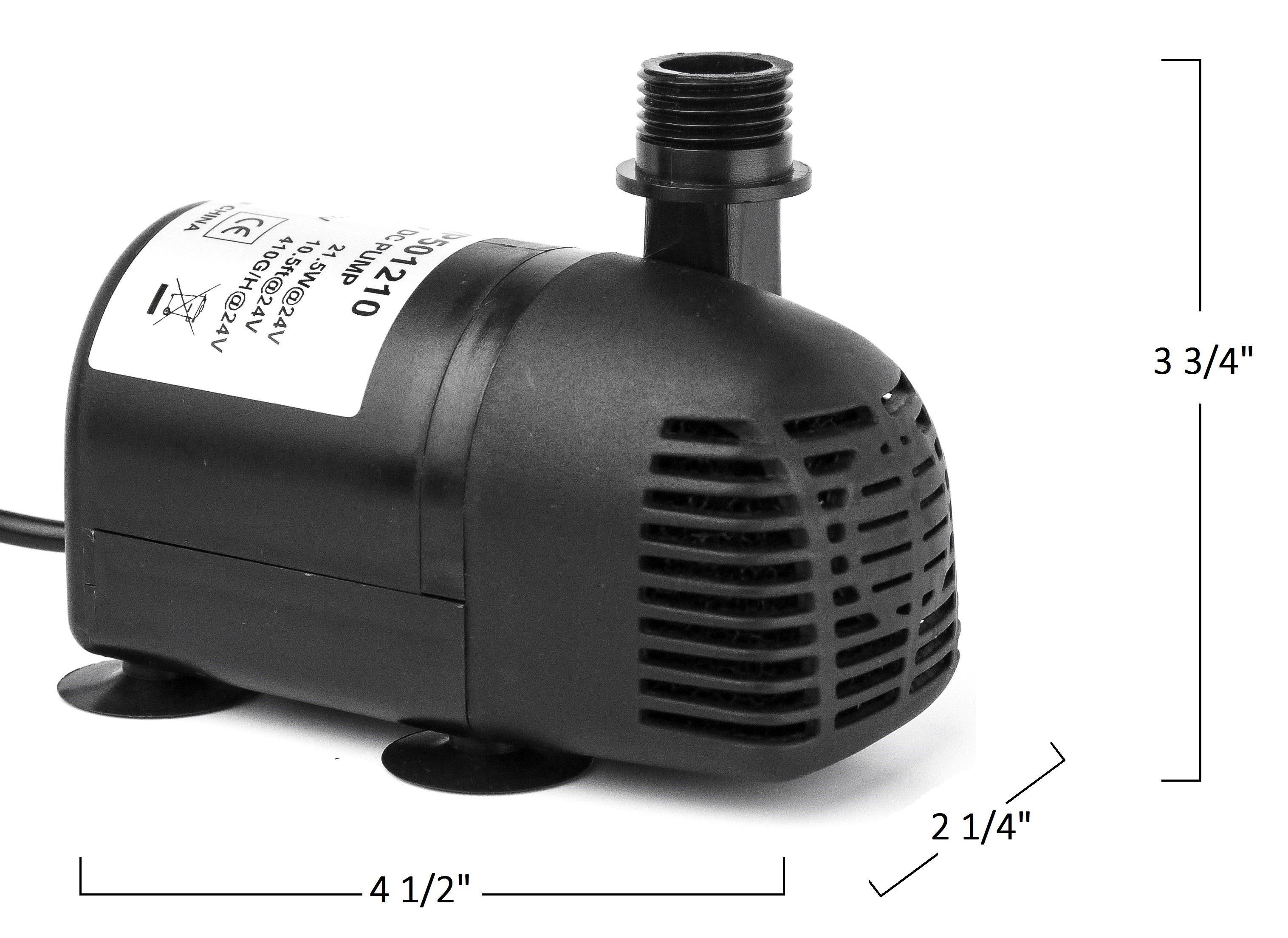 Amazon Com Aeo Solar Pump 12v 24v Dc Brushless
