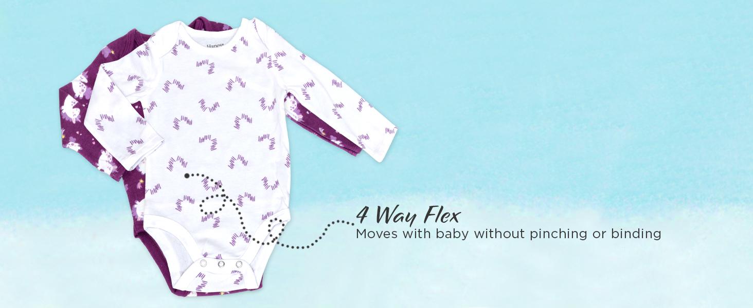 hanes baby; baby clothes; unisex baby clothes; baby girl clothes; baby gifts; carters baby girl