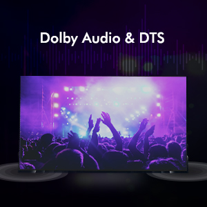 Dolby Audio and DTS