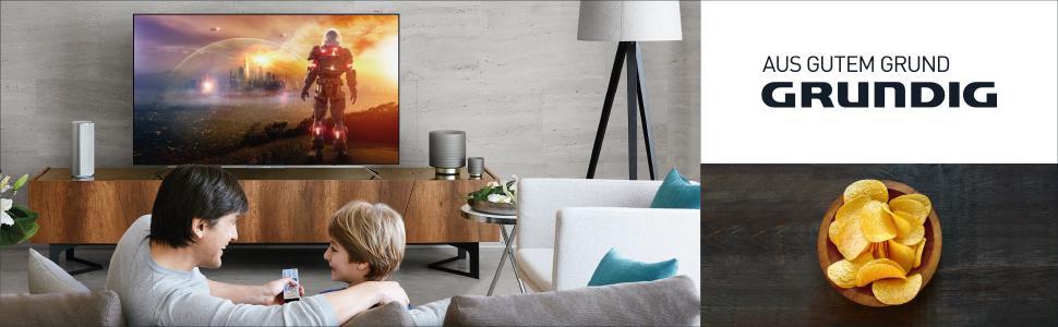 Grundig UHD LED-TV