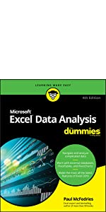 excel 2019, excel data analysis, dummies