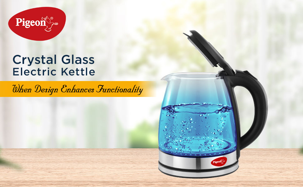 Crystal Glass Kettle