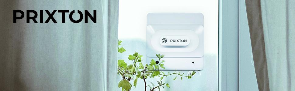 PRIXTON Windows Cleaner Spire BT200 - Robot Limpiacristales Automático con Programas de Limpieza Inteligentes, Limpiador de Ventanas con Control Remoto Desde Mando o móvil: Amazon.es: Hogar