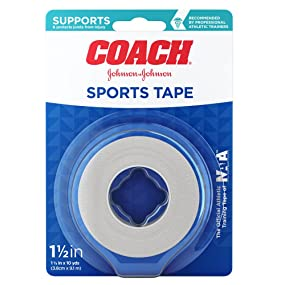 COACH Sports Tape, 1.5 Inch, 1 Count