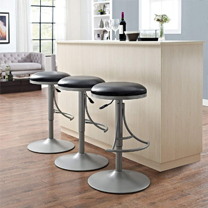 Awe Inspiring Crosley Furniture Cf521126Pl Lt Jasper Backless Swivel Counter Stool 26 Inch Platinum With Light Tan Cushion Bralicious Painted Fabric Chair Ideas Braliciousco