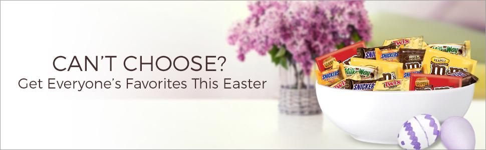 Get all of the chocolate favorites with a MARS Variety Bag for Easter.