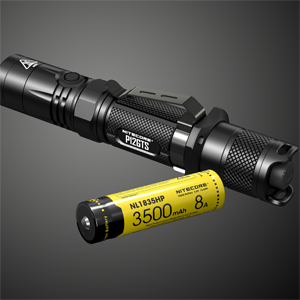 NITECORE P12GTS 18650 battery