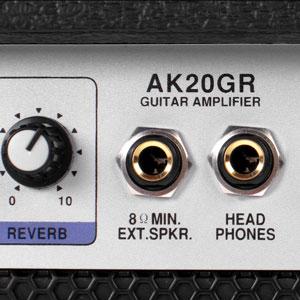 B-WARE Soundking 2-Kanal E-Gitarre Verstärker Combo Amplifier Federhall Reverb
