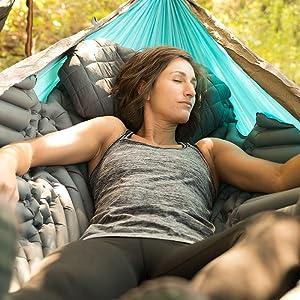 napping hammock, sleeping hammock, outdoors hammock, camping hammock