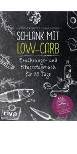 Schlank mit Low-Carb: Ernährungs- und Fitnesstagebuch