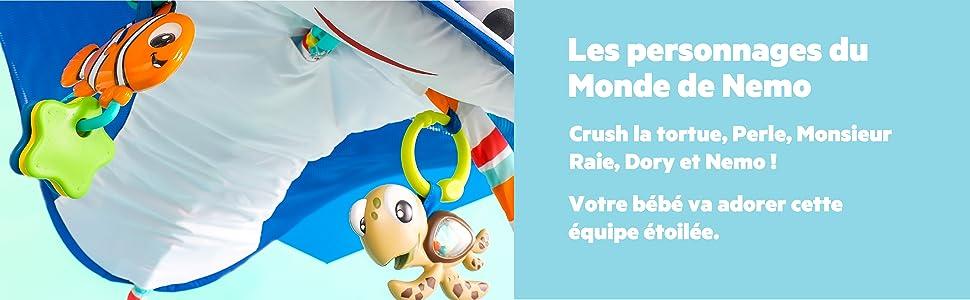 Disney Baby, Tapis d'Eveil Mr. Ray Ocean Lights: Amazon.fr