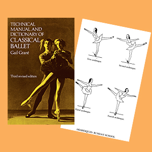 Technical Manual And Dictionary Of Classical Ballet Gail border=