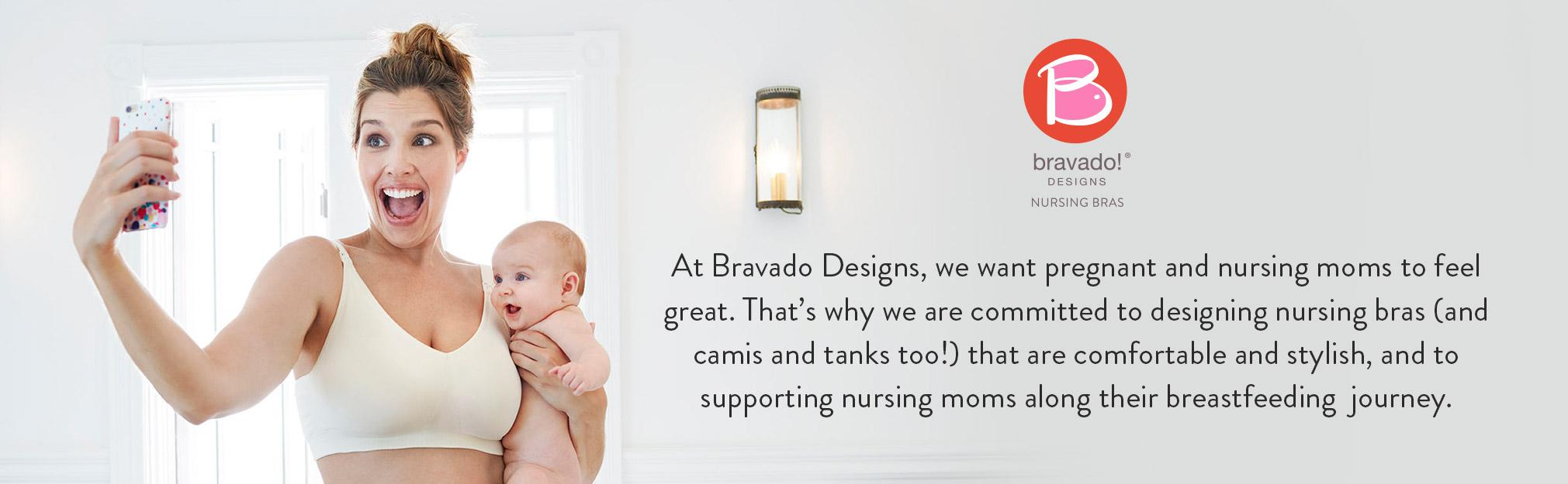 d70d02f6f2 Bravado! Designs Women s Maternity Ballet Nursing Bra  Amazon.ca ...