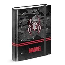 Spiderman Dark-Estuche Portatodo Triple HS: Amazon.es: Equipaje