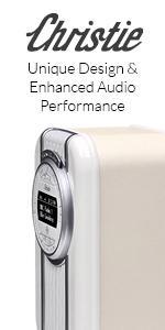 Christie, VQ, View Quest, Radio, DAB, Digital Radio, Bluetooth Speaker, Retro Radio, Clock Radio
