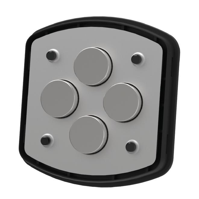 Amazon Com Scosche Mpva Magicmount Pro Magnetic Phone Gps