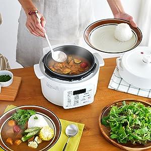 2 in 1 のグリル鍋