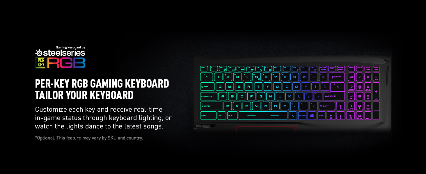 steel series rgb keyboard