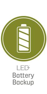 LED+ Battery Backup