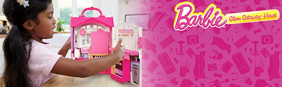 NEW OTHER FREE SHIPPING Barbie Glam Getaway House