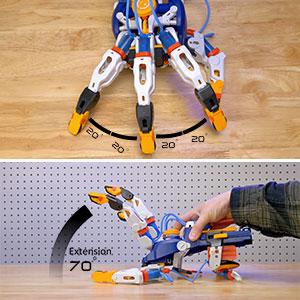 cyborg hand, diy, construction, experiment, stem, science, physics, engineering, hydraulics