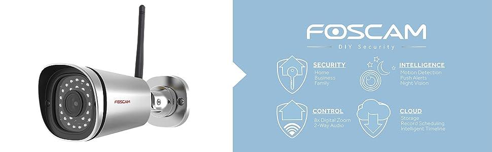 Основен банер на Foscam FI9900P