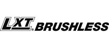 Lithium-ion extreme technology brushless black and white logo