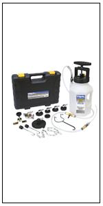 MV6840, pressure brake bleeding, brake bleeder, brake bleeding, clutch bleeding, brake job tool