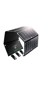 24W ソーラーチャージャー RP-PC005