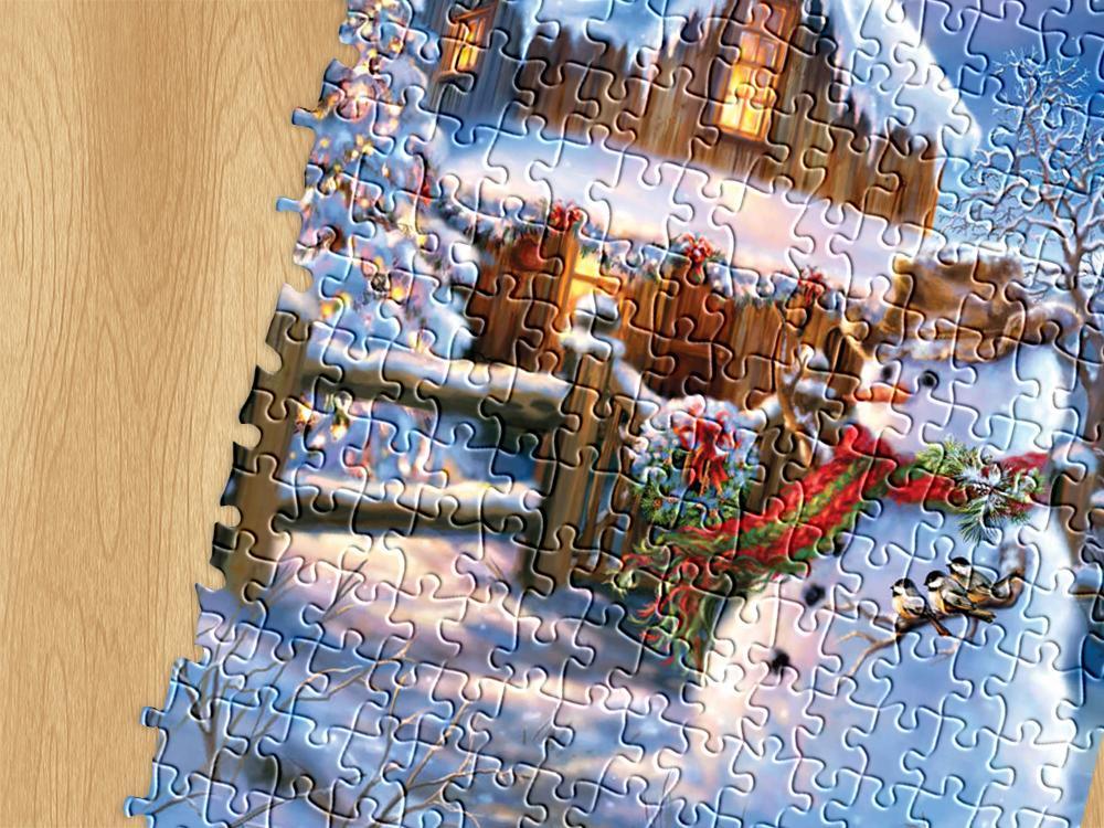 Springbok Puzzles 34-01535 the Country Christmas Jigsaw