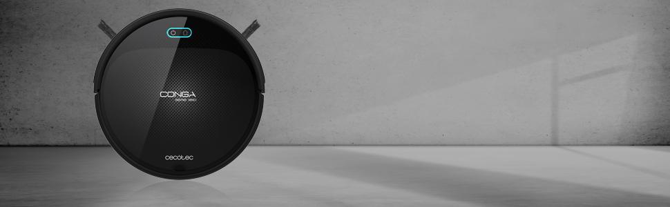 Cecotec Robot Aspirador Conga Serie 950. 1400 Pa, Tecnología iTech ...