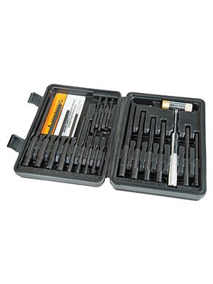 wheeler engineering roll pin punch install tool set kit AR 15 10 build holder installation case