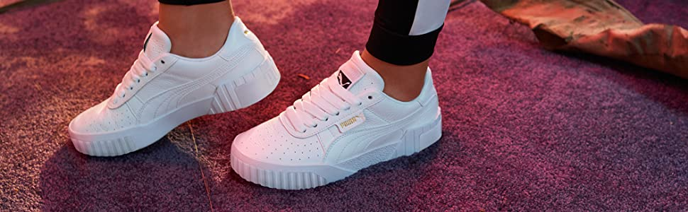PUMA Women's Cali WN's Low Top Sneakers