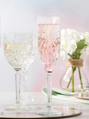Oasis glasses, rcr oasis glassware, oasis champagne glasses, wine glasses