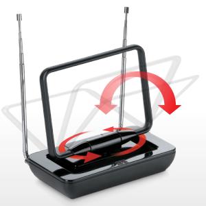 One For All SV9015, Antena de TV para Interior, Recibe TDT en ...