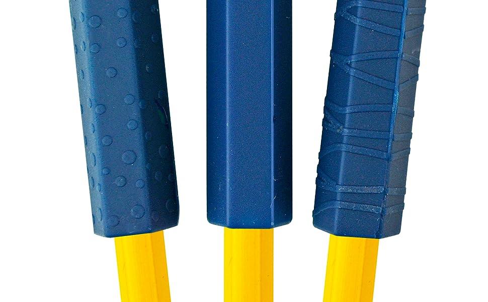 pencil, chew