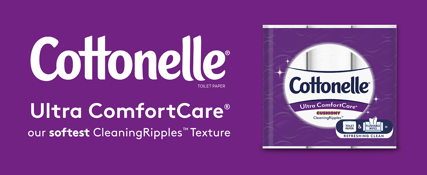 Cottonelle Dry Ultra Comfort Care Soft Toilet Paper
