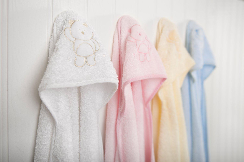 Amazon Com Clevamama Apron Hooded Baby Towel Bath