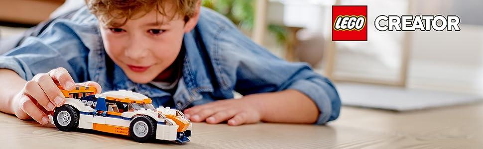 car-vehicle-race-racing-track-orange-white-speed-boat-engine-lego-creator-31089-imagination