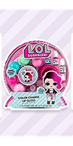 LOL Surprise Color Change Lip Gloss by Horizon Group USA