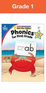 phonics for grade 1 workbook