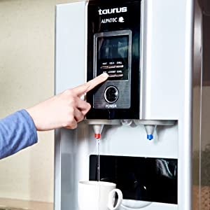 dispensador de agua, fuente de agua, máquina de hacer cubitos, máquina de hielo