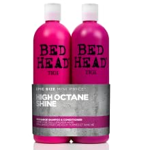 tigi bed head bedhead recharge high shine shampoo and conditioner set pack duo shiny glossy hair