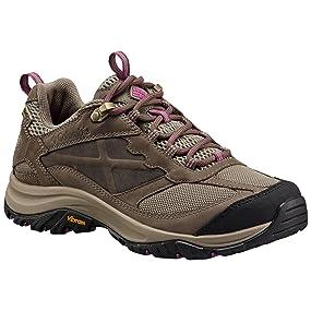 Columbia Terrebonne Outdry Damen Trekking- & Wanderhalbschuhe, Braun (Pebble, Intense Violet 227), 42 EU, BL4518