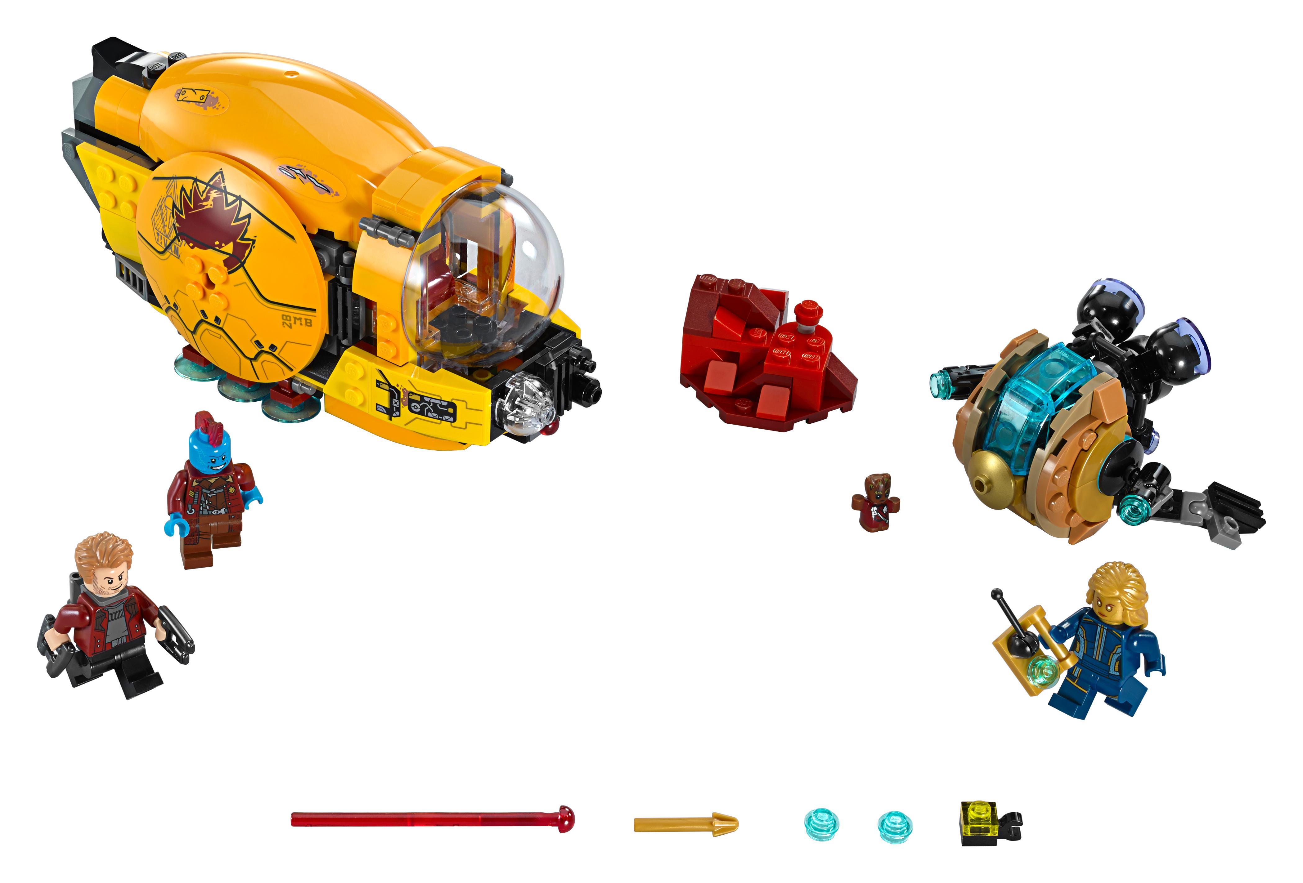 Marvel - Venganza de Ayesha (Lego 76080): Amazon.es: Juguetes y juegos