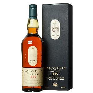 Lagavulin 16 Años – Whisky escocés puro de malta (Pronunciación: Laga-wulen)
