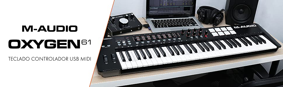 M-Audio Oxygen 61 IV - Teclado Controlador MIDI USB con 61 ...