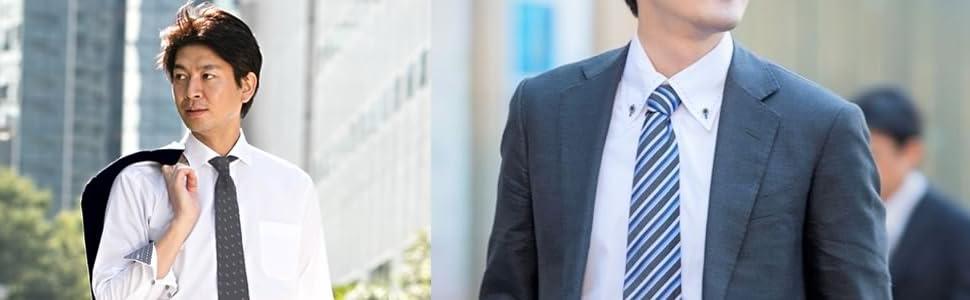 ネクタイ セット メンズ 仕事 ビジネス ストライプ ドット 洗える ウォッシャブル ウオッシャブル ブルー ネイビー スーツ おしゃれ ブラック 黒 青 紺 水玉 メンズネクタイ